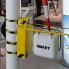 Windkraftwerke: Kletterroboter überprüft Windräder