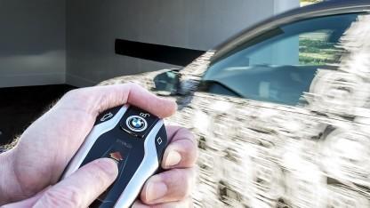 Automatisches Parken des neuen 7er BMW