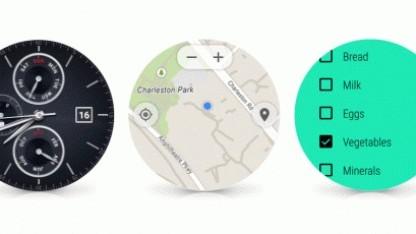Google bringt ein Update für Android Wear.