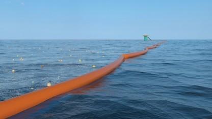 The Ocean Cleanup will den Plastikmüll aus den Meeren filtern.