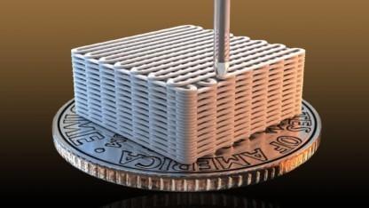 Materialforschung Forscher 3d Drucken Graphen Aerogel