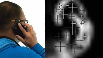 Bodyprint erkennt eine Ohrmuschel