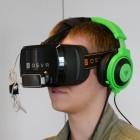Hand-Tracking: Spieler schleudern virtuell Feuerbälle auf Geister