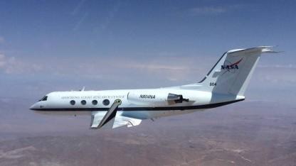 Testflugzeug mit verformbaren Tragflächen: 22 Flüge in 6 Monaten