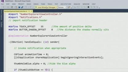Objective-C wird in Visual Studio unterstützt, um iOS-Apps auf Windows 10 zu portieren.