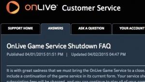 Onlive verkauft wichtige Teile des Spielestreamings an Sony.