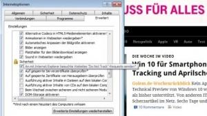 Künftig wird Do Not Track im Internet Explorer nicht mehr standardmäßig aktiviert.