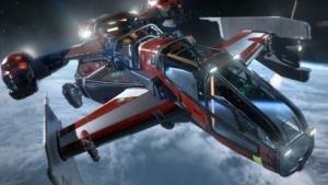 Raumschiff aus Star Citizen