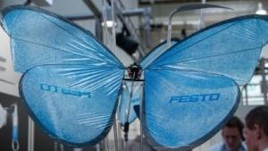 Flugroboter Emotion Butterfly: so reduziert wie möglich gebaut