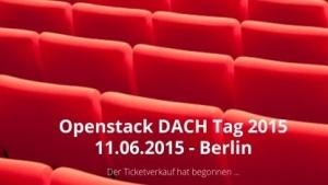 Openstack DACH Day findet am 11. Juni 2015 statt.