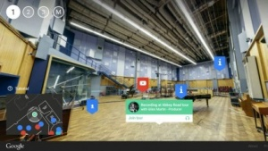 Auf virtueller Tour in den Abbey Road Studios