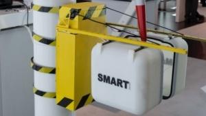 Modell des Wartungsroboters Smart: trockener und windgeschützter Arbeitsraum