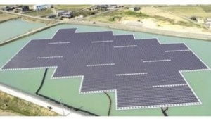 Schwimmendes Solarkraftwerk: Struktur widersteht einem Wirbelsturm