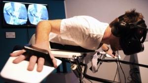 Flugsimulator mit Datenbrille