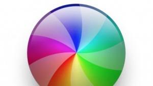Apples Regenbogen-Rad