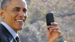 Obamas Blackberry-Account wurde angeblich nicht gehackt.