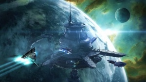 Artwork von Eve Online