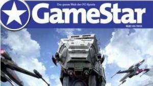 Aktuelles Cover der PC-Spielezeitschrift Gamestar
