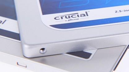 Crucial BX100 und MX200