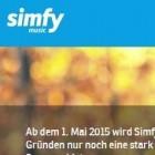 Musik-Streaming: Simfy ist offenbar am Ende