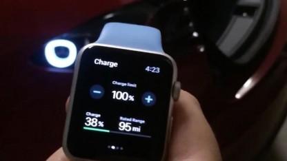 Tesla-App für die Apple Watch