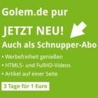 In eigener Sache: Golem.de erweitert sein Abo um eine Schnupper-Version