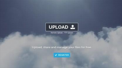 Die Website Netload