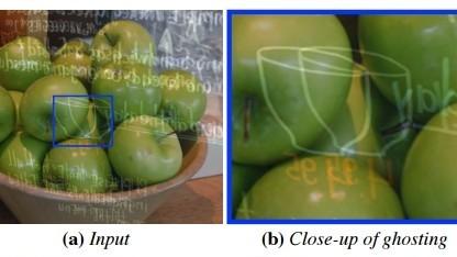 Ein neu entwickelter Algorithmus erkennt und entfernt Spiegelungen auf Glasscheiben zuverlässig.