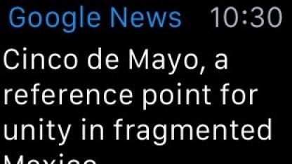 Google News & Weather ist jetzt für die Apple Watch verfügbar.