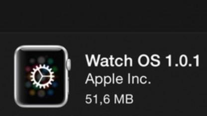 Watch OS 1.0.1 ist da