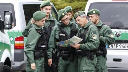 Polizei in Bayern im Mai 2015