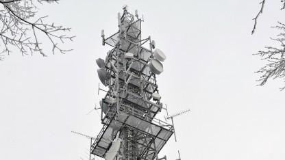 LTE-Mast in Rammenau