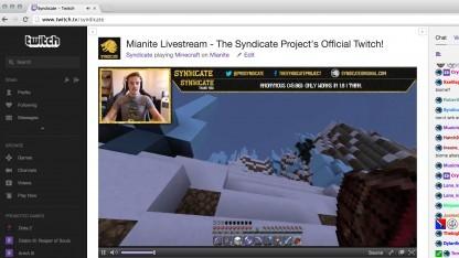 Kanal auf Twitch.tv