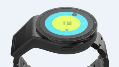 Lenovos Smartwatch-Konzept mit zusätzlichem Projektionsdisplay
