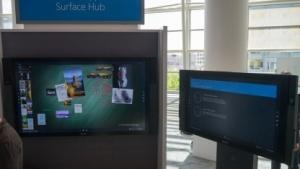Surface Hub mit 85- und 55-Zoll-Display