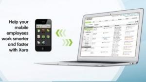 Xora-App zur Überwachung von Mitarbeitern