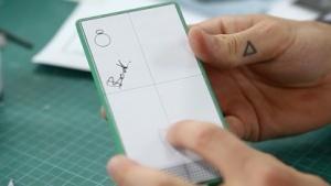 Frühes Design-Konzept für das Fairphone 2