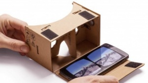 Der Cardboard-Betrachter von Google
