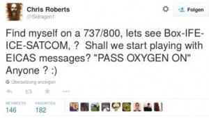 Der Hacker Chris Roberts soll die Triebwerke eines Flugzeugs manipuliert haben.