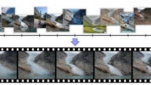 Der neue Algorithmus berechnet aus Tausenden verschiedenen Fotos Zeitrafferaufnahmen.