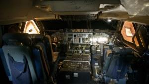 Könnte gehackt werden: Bordcomputer im Flugzeugcockpit