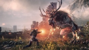 Artwork von The Witcher 3