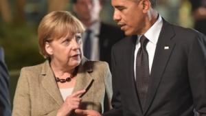 Merkel und Obama im November 2014; Gespräche zum No-Spy-Abkommen gab es zwischen ihnen im August 2013 vermutlich nicht.