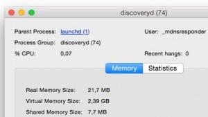 Discoveryd ist in der aktuellen Betaversion von OS X Yosemite nicht mehr zu finden.