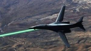 Bomber B-1B Lancer mit Laserwaffe: nicht besonders beeindruckende Tests