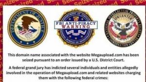 Sollte eigentlich zu sehen sein: Sperranzeige des FBI