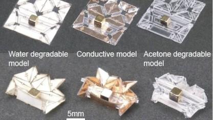 Origami-Roboter: Einsatz im menschlichen Körper