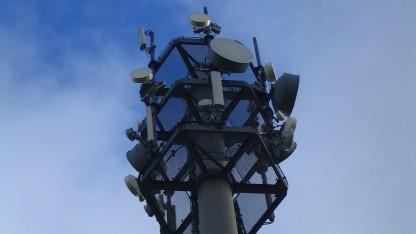 LTE-Mast bei Vodafone