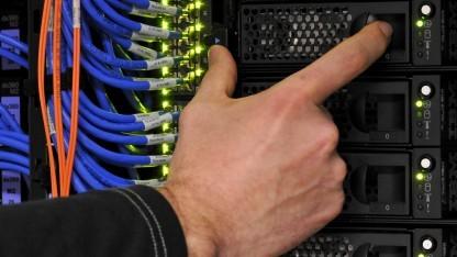 Server (Symbolbild): Spiegel Online stundenlang nicht erreichbar