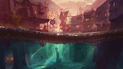 Artwork von The Bard's Tale 4